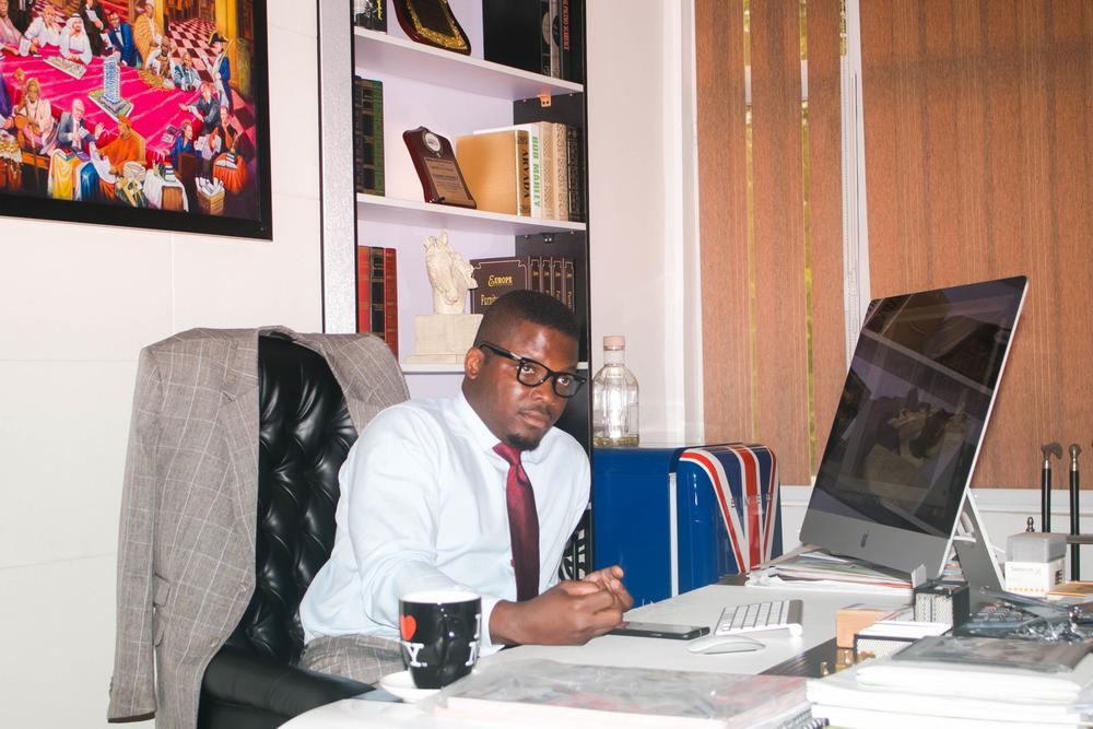 Sijibomi Ogundele, the MD/CEO of Sujimoto, a real estate company