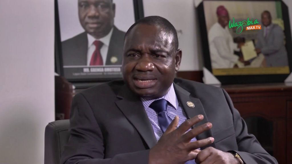 Commissioner for Information and Strategy in Lagos, Gbenga Omotosho
