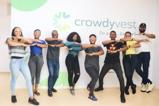 Crowdyvest team celebrating World Women's Day 2020
