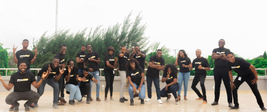 Plentywaka team celebrating 100,000 rides in March 2020