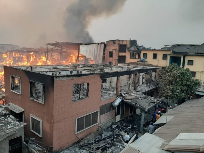 Economic Experts Lament Losses After Looting And Arson Of Properties In Lagos