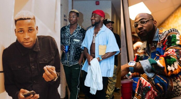 Assault: Davido Cuts Off His Business Relationship With Lil Frosh