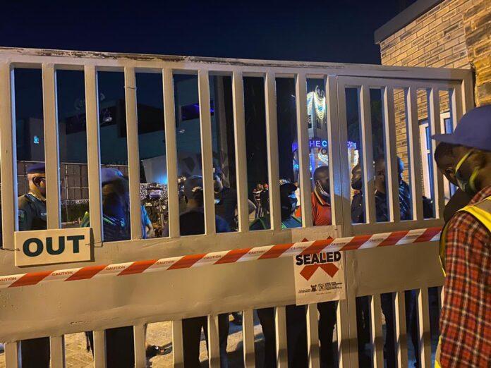 Police Shutdown Cubana Nightclub In Lagos